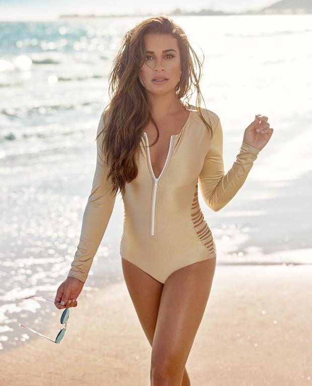 Lea Michele (Foto: Reprodução/Shape Magazine)