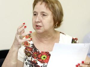 Tânia era secretária de Assistência Social de Joinville (Foto: Jaksson Zanco/Divulgação)