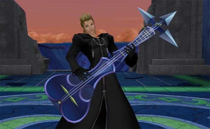Demyx, o roqueiro de Kingdom Hearts (Foto: Divulgação/Square Enix)