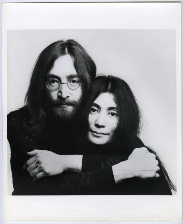 John Lennon e Yoko Ono, retrato de Iain Macmillan, 1969. Londres (Foto:  ©Yoko Ono)