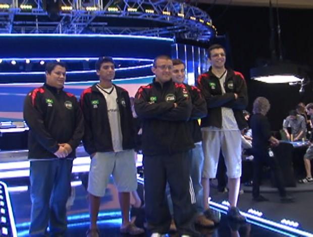Seleção Brasileira Poquer Esporte Espetacular (Foto: Reprodução TV Globo)
