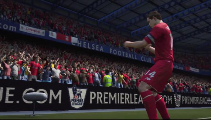 Fifa 16: game contará com torcida ainda mais realista (Foto: Reprodução/YouTube)
