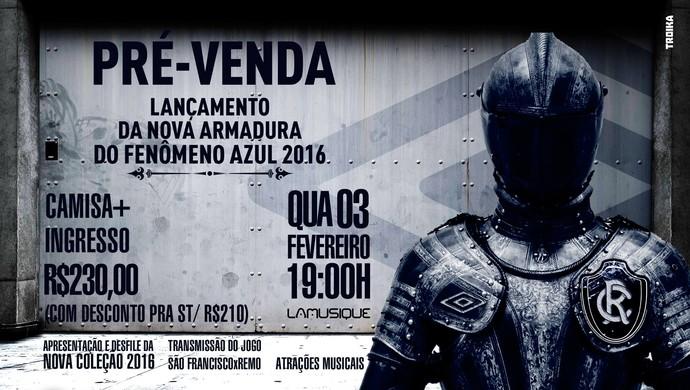 Lançamento da camisa do Remo (Foto: Divulgação/ Clube do Remo)