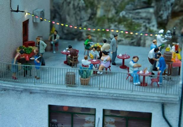 Riqueza de detalhes: Miniatur Wunderland, em Hamburgo (Foto: Reprodução/Facebook/Miniatur Wunderland)