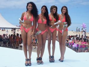 Meninas estarão na final do concurso no próximo fim de semana (Foto: Gabriela Loeblein/G1)