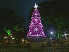 Andradas enfeita ruas e praça para o Natal com material reaproveitado