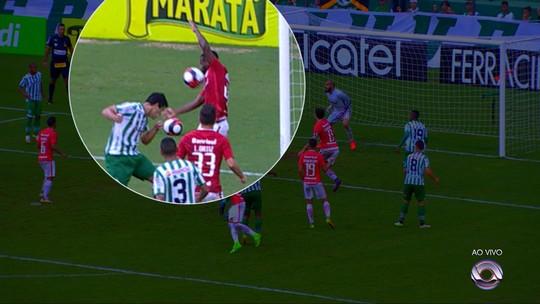 """Uendel aumenta coro contra juiz, mas admite que Inter não fez """"melhor jogo"""""""