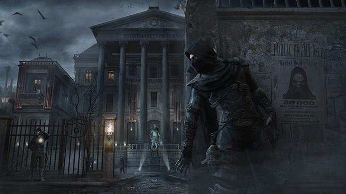 Ande pelas sombras e seja como um fantasma no novo Thief (Foto: nextpowerup.com)
