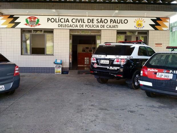 Caso foi registrado na Delegacia de Polícia de Cajati (Foto: G1)
