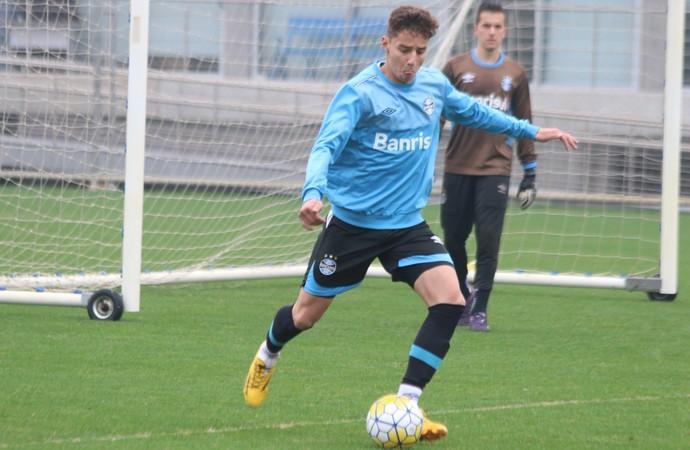 Marcos Marcão sub-20 Grêmio (Foto: Eduardo Moura/GloboEsporte.com)