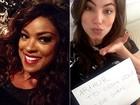 Cris Vianna e Bruna Hamú declaram torcidas na semi da Audição das Estrelas