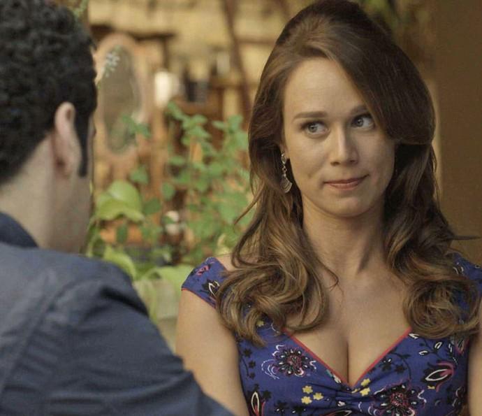 Tancinha fica sentida ao saber que Tamara está mal: 'Fico com pena' (Foto: TV Globo)