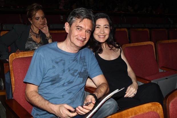 Serginho Groisman e mulher (Foto: Manuela Scarpa/Photo Rio News)