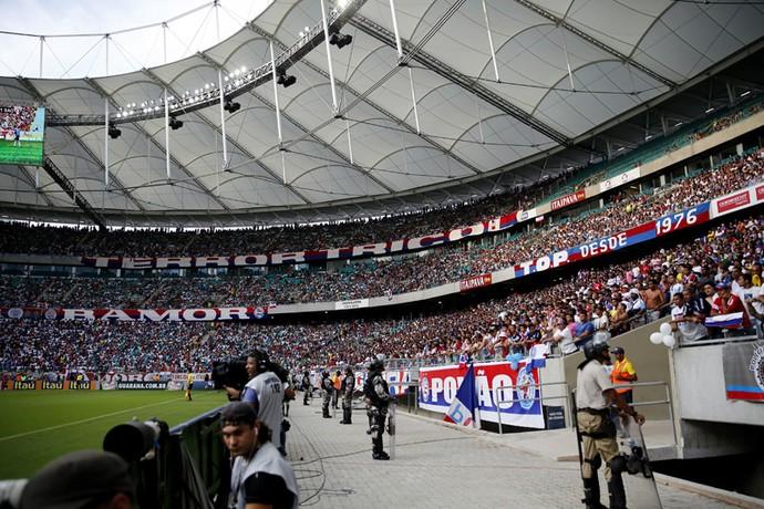 Arena Fonte Nova; torcida do Bahia (Foto: Felipe Oliveira/Divulgação/EC Bahia)