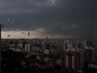 Chuva, vendaval e granizo atingem mais de mil pessoas em todo o PR