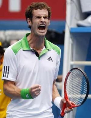 Foto (Foto: Murray vibra muito na vitória sobre o ucraniano - Reuters)