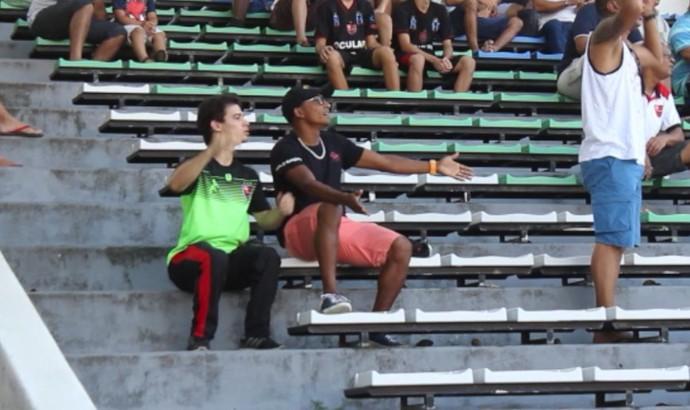 Fabinho Flamengo-PI x River-PI - Campeonato Piauiense 2017 (Foto: Renan Morais)