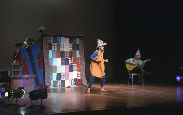 Espetáculo 'Quaquarela' acontece em Boa Vista (Foto: Bom Dia Amazônia)