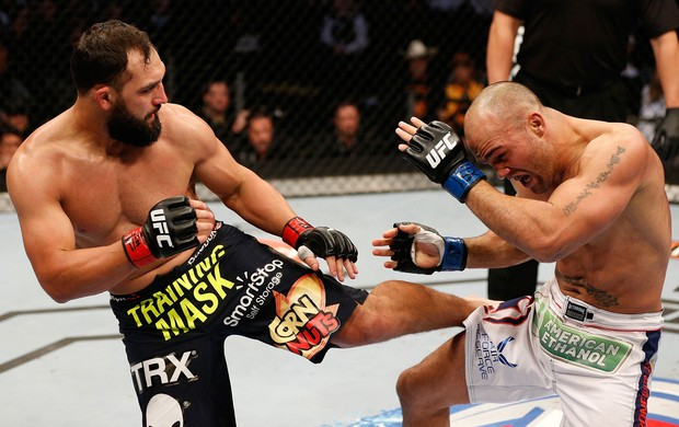 UFC  Johny Hendricks e Robbie Lawler (Foto: Agência Getty Images)