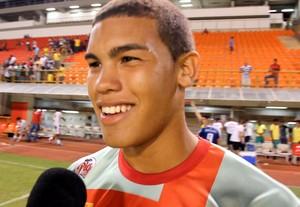 Gabriel Carvalho, goleiro do Rio Branco-AC (Foto: Reprodução/GloboEsporte.com)
