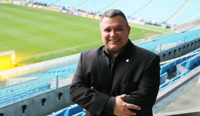 Antônio Dutra Júnior, vice-presidente do Grêmio (Foto: Eduardo Moura/Globoesporte.com)