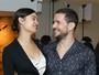 Sophie Charlotte vai com Daniel de Oliveira a lançamento de filme