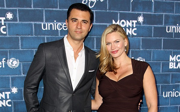 Natasha Henstridge e Darius Campbell (Foto: Getty Images)