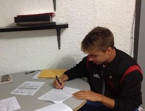 Igor Sartori flamengo contrato (Foto: Divulgação/Flamengo)