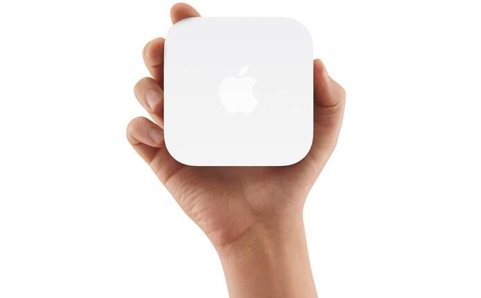 AirPort Express oferece transmissão Wi-Fi em duas bandas simultâneas (Foto: Divulgação/Apple)