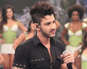 Gusttavo Lima  (Foto: Domingão do Faustão / TV Globo)