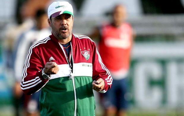 Luxemburgo treino Fluminense (Foto: Cristiano Andujar / Photocamera)