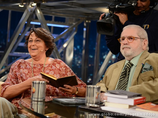 Marisa Lajolo participa do Programa do Jô desta sexta-feira (Foto: TV Globo/Programa do Jô)