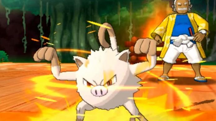 Pokémon Sun e Moon: Kahuna Hala usa monstrinhos do tipo Lutador (Foto: Reprodução / Thomas Schulze )