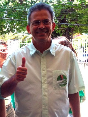Hermano Moraes, do PMDB (Foto: Caroline Holder/G1)