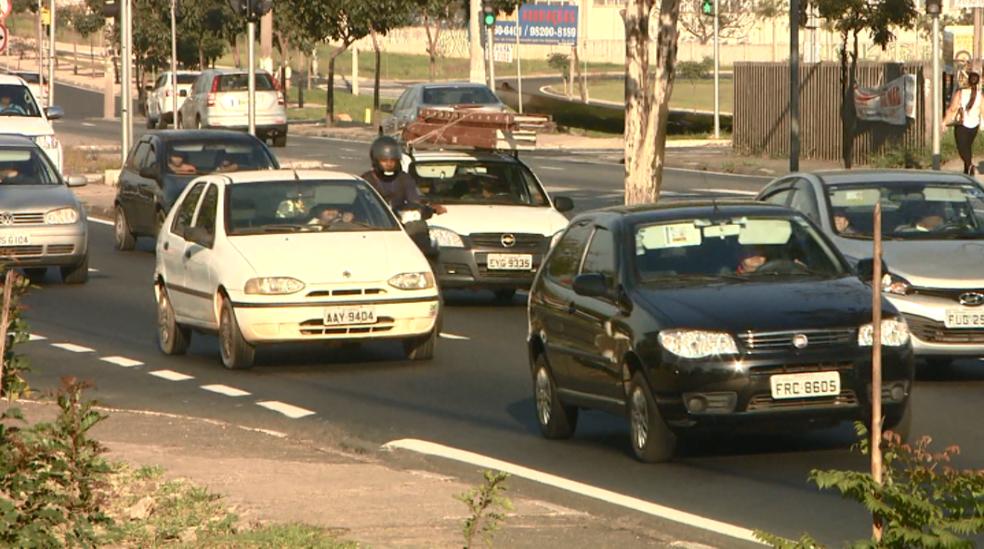 Avenida John Boyd Dunlop fará parte do percurso do BRT em Campinas (Foto: Reprodução/ EPTV)