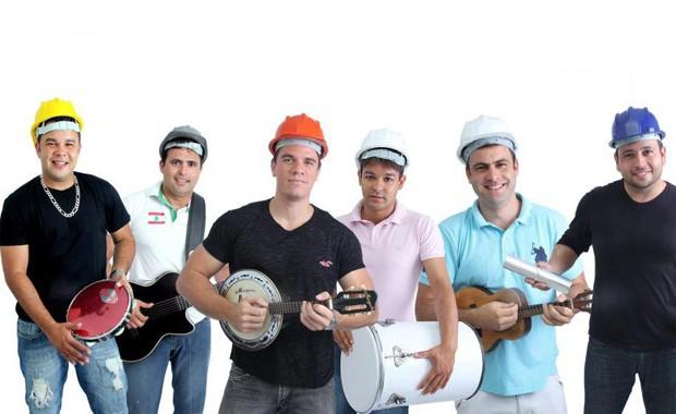 A banda baiana Operários do Samba gravou a paródia 'Esse cara sou eu (versão real)', com personagem mulherengo e 'cachaceiro' (Foto: Divulgação)