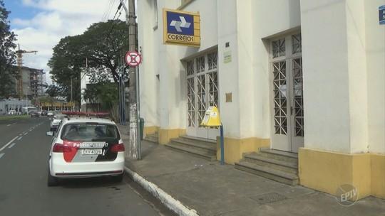 Ladrões assaltam agência dos Correios no Centro de Piracicaba e levam dinheiro do cofre