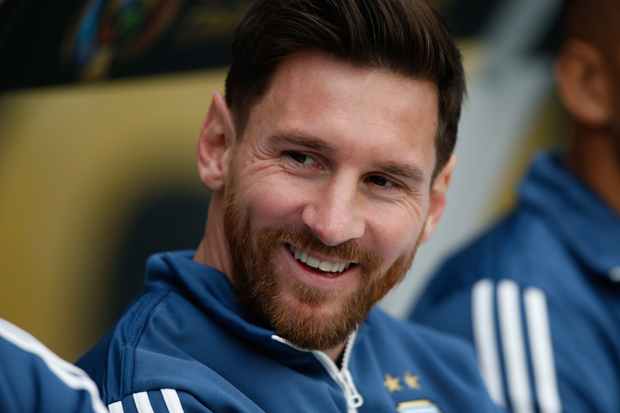 Lionel Messi na Copa América (Foto: Getty Images)