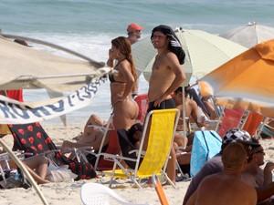 Roger Flores, ex de Deborah Secco (Foto: Marcos Ferreira / FotoRioNews)