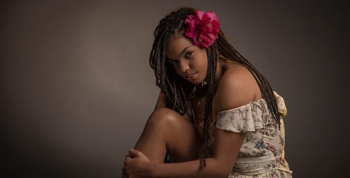 Jeniffer Nascimento como Gabriela (Foto: Raphael Dias / Gshow)