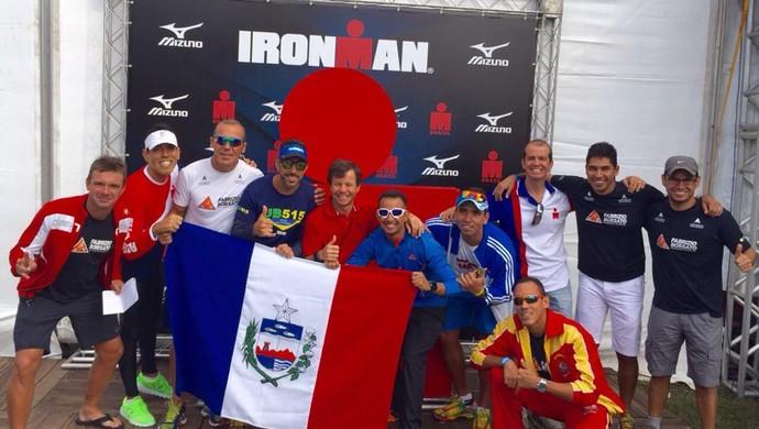 Equipe triatlo al ironman  (Foto: Divulgação)