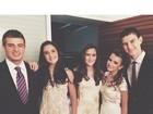 Filhos de Bonner e Fátima mostram look para festa de Livian Aragão