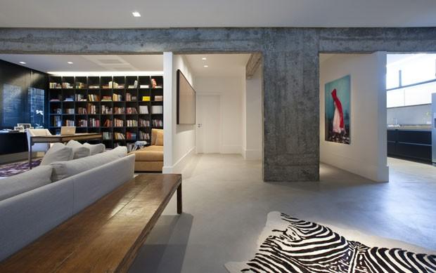 Arquitetura E D Cor Minimalistas Renovam Apartamento De