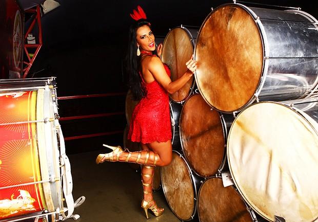 Carnaval - Kelly, ex-BBB, posa para o EGO (Foto: Iwi Onodera/EGO)