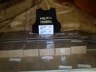 PF apreende caminhão com 900 caixas de cigarros contrabandeados