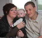 Britânica perde 42kg para poder ter primeiro filho (Reprodução/Mail Online)