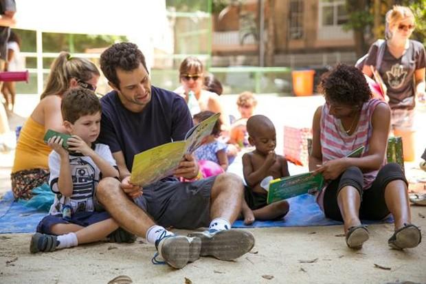 Atividades ao ar livre animam a família (Foto: Divulgação)