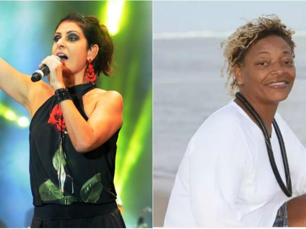 Fernanda Abreu e Mart'nália dividem palco do  Boulevard Olímpico  (Foto: Divulgação)