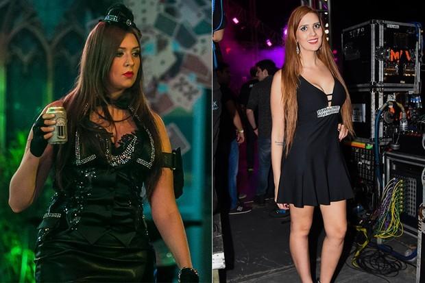 Tamires Peloso perdeu peso e clareou os cabelos (Foto: TV Globo/Divulgação/Reprodução)