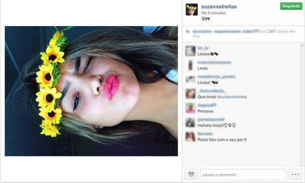 Suzanna Freitas (Foto: Divulgação / Instagram)